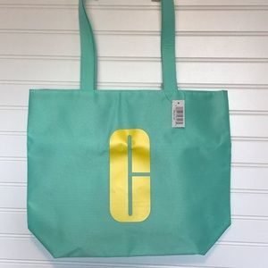Clinique Tote Green With Logo